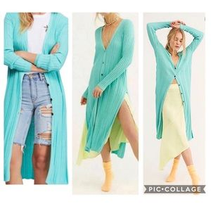 Anthropologie | Free People Duster Cardigan, NWT